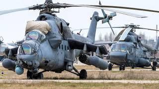 Фото «Летающие танки» вертолеты Ми 35М приковали внимание сербских СМИ