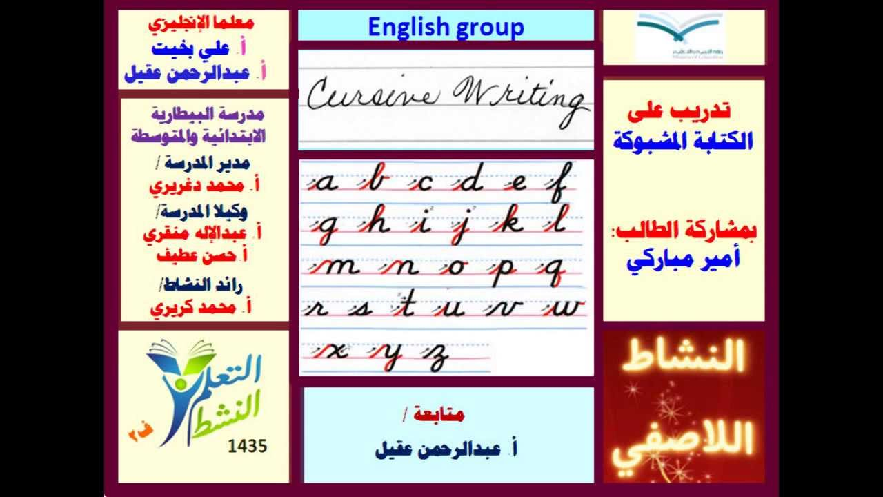 افضل طريقة لتعلم الكتابة بالانجليزي