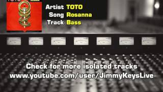 TOTO - Rosanna Isolated bass track (David Hungate)
