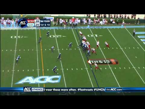 Sylvester Williams vs NC State 2012