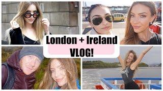 LUSH in London + Hiking in Ireland VLOG | STEPHANIE LANGE