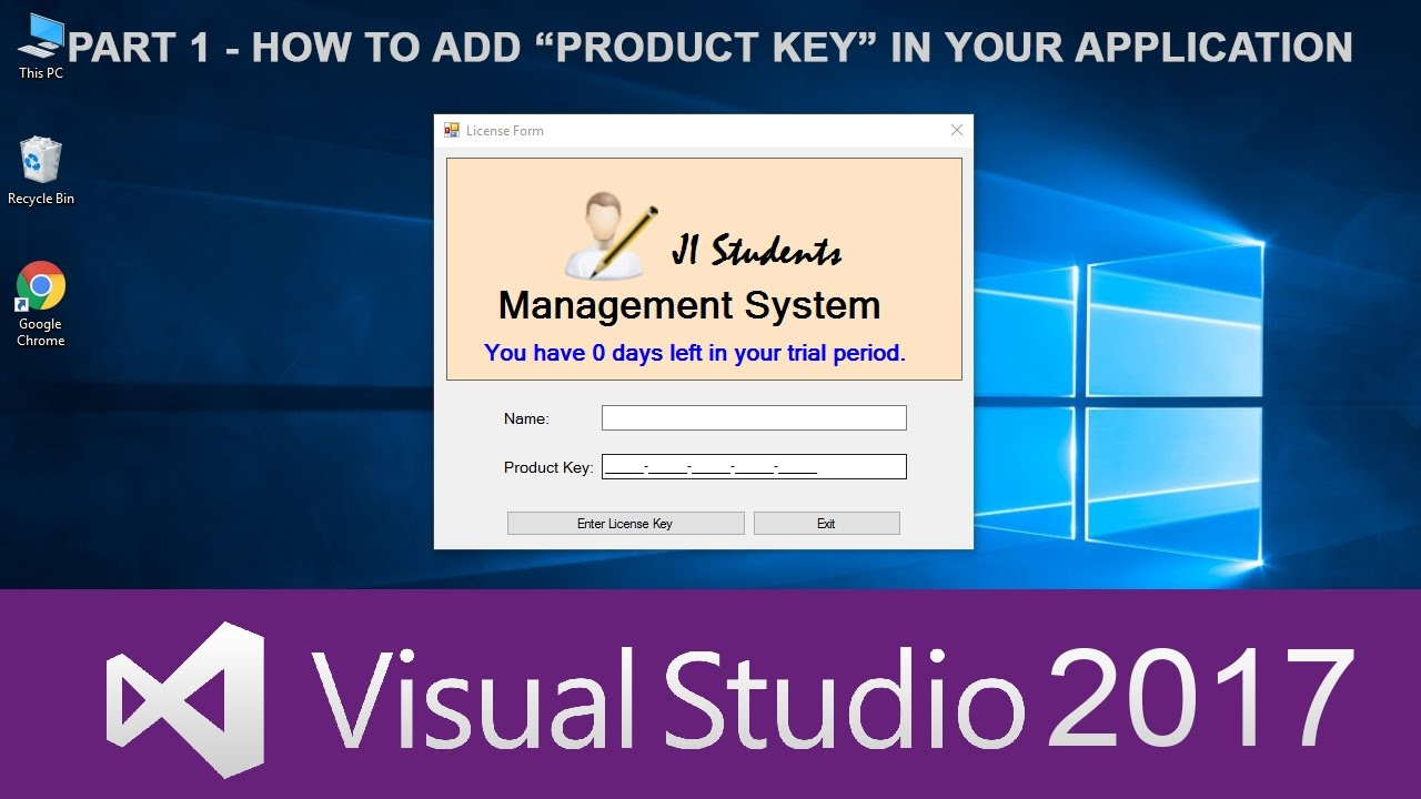 1 C Tutorials In Urdu How To Add Product Key Functionality To