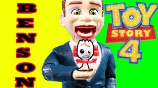 Toy Story 4 Benson tries to eat Forky ! Interactive Woody Buzz Lightyear Forky Dream