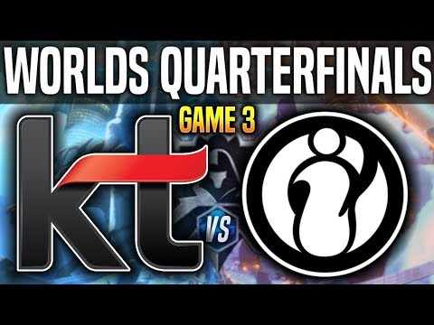 KT Rolster vs Invictus Gaming  vod