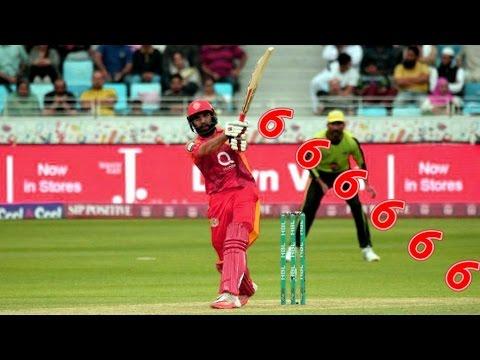 Misbah-ul-Haq hits 6 sixes off 6 balls in Hong Kong T20 Blitz  2017 Lattest updates