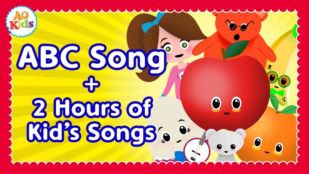 ABC Song + 2 Hours of Kid's Songs