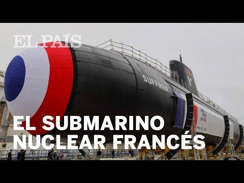 Francia presenta su nuevo SUBMARINO NUCLEAR de ataque