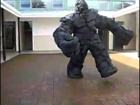 Giant Monster Costume & Giant Monster Costume - YouTube