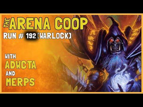 Hearthstone Arena Coop #192 (Warlock)