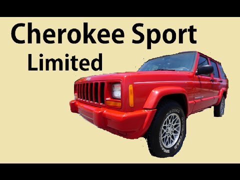 Jeep Cherokee Sport Limited Loaded XJ Leather 4.0L Classic Red SUV
