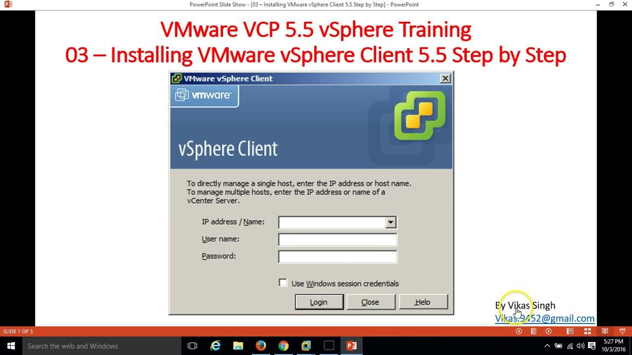 vsphere client download 5.5