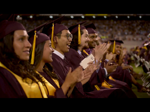Arizona State University Undergraduate Commencement 2017