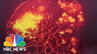 Glowing Destruction: Hawaiian Lava Flow That Has Displaced Thousands   NBC News