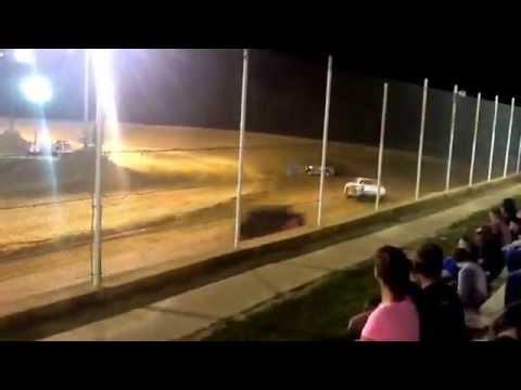 Heat race @ Northwest florida speedway 9/19/2015