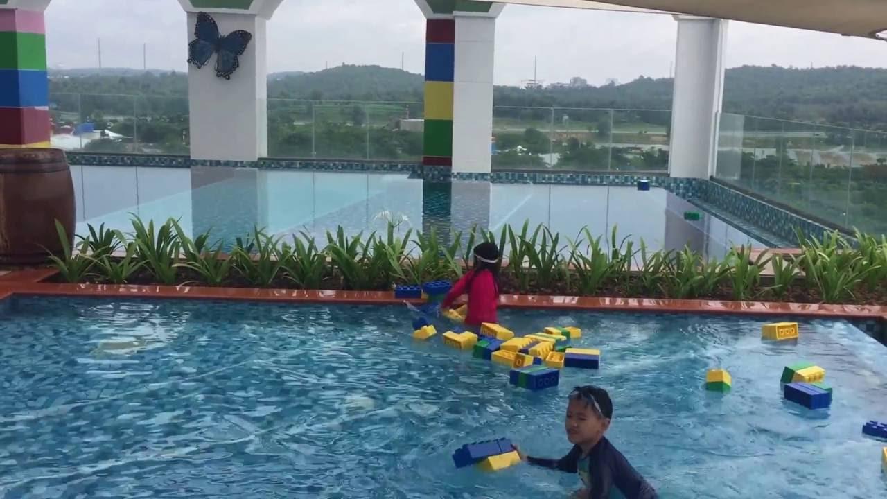 Legoland Hotel Swimming Pool Youtube