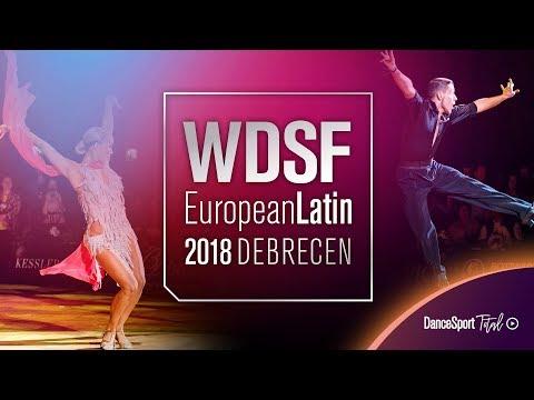 Gorodilov - Bergmannova, EST | 2018 European LAT | R2 C | DanceSport Total