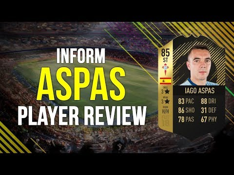 FIFA 18 - INFORM ASPAS (85) PLAYER REVIEW