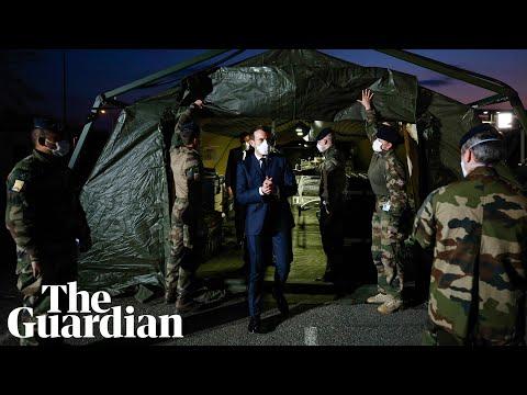 Emmanuel Macron Drafts French Military Into 'coronavirus War'