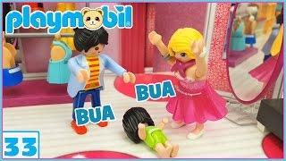 Playmobil 33 | Eva se compra el vestido para la boda, y Leo se porta mal. Playmobil en español 👰