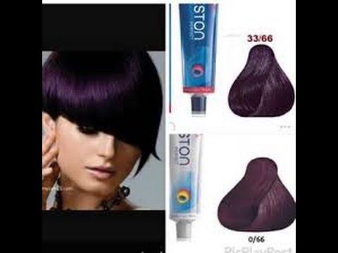 بنفسجي غامق كيفيه مزج الوان صبغات الشعر الجزء الثامن How To Mix Colors Of Hair Dyes Youtube