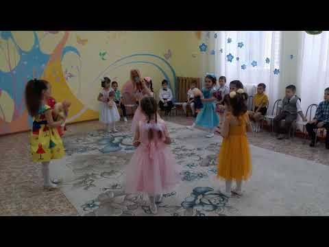 Нежный танец с куклами в детском саду \