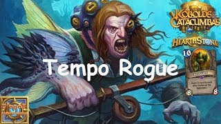 Hearthstone: Arena: Tempo Rogue #4 Kobolds and Catacombs