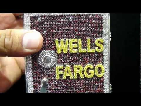 Mr Chris Da Jeweler Custom Lab Diamond Wells Fargo Safe Pendant Video No : BP04415 ( For Sale )