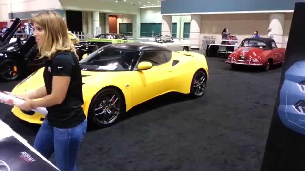 Orlando Auto Show >> Maserati Lotus Car Show Girl Central Florida