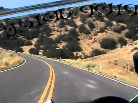 motorcycle ride coalinga hills