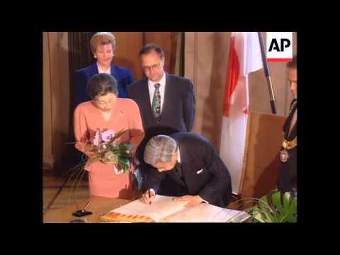 Germany - Akihito Starts European Tour