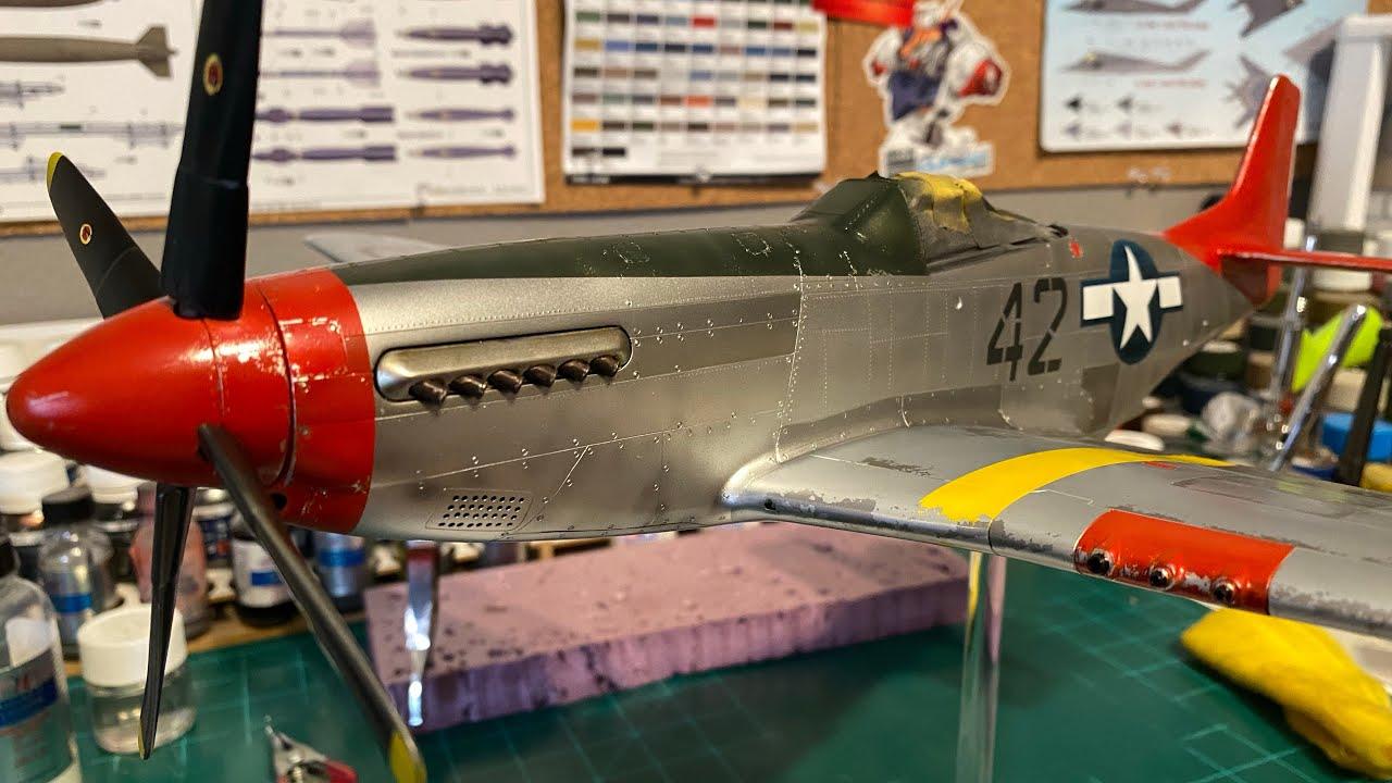 Airfix 1/24 P-51 D Mustang Part 3: Paint