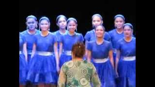 Manila Science High School Chorale 2013 with the Alumni @ the Triumph of the One Concert
