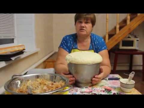 Пироги. Делаем пироги с капустой.