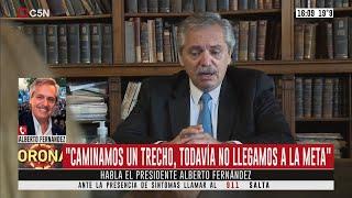 Habla Alberto Fernández (Parte 2)