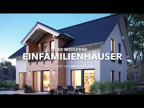 20 moderne Einfamilienhäuser (Klassische Einfamilienhäuser)