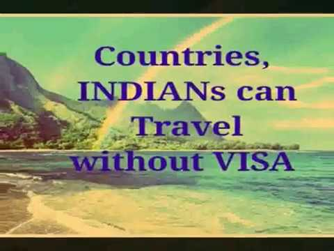 8 Beautiful Countries Indians Can Travel  without VISA
