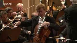 Edward Elgar: Koncert pro violoncello a orchestr e moll v podání SOČRu (HD)