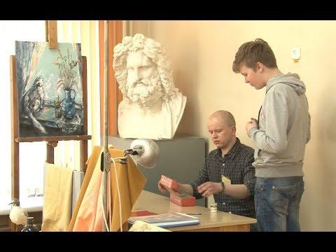 День открытых дверей в художественной школе им. И.Хруцкого