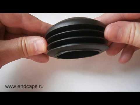 Заглушка круглая для трубы с наружным диаметром 76