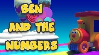 Ben, die Bahn – Ben und die Zahlen im Land der Süssigkeiten