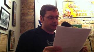 "Daryl Gregory reads his short story ""Persistence"" at Tuesday Funk #48"