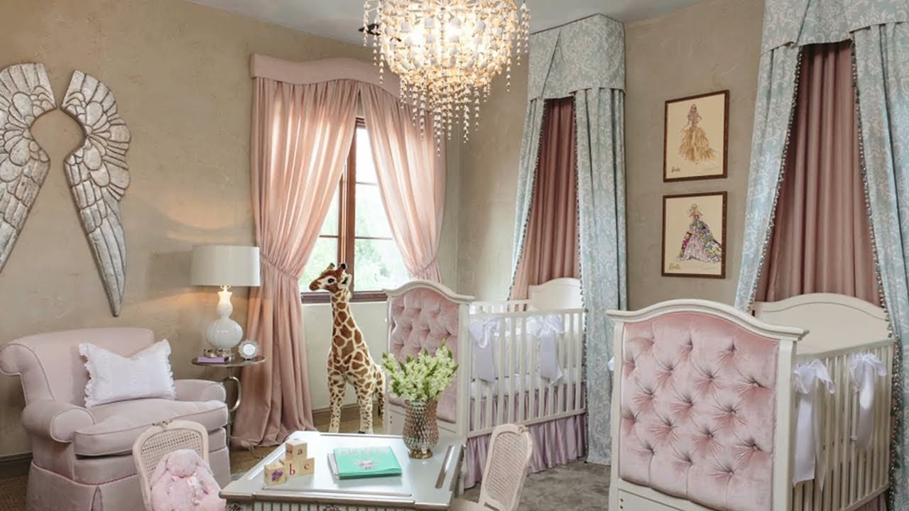 A Little Princess Nursery Design Youtube