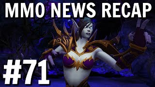 MMO Weekly News Recap #71| BFA Pre-Patch, ESO Stealth Dungeons and More!