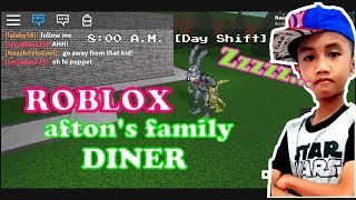 Bermain Game Roblox-Afton's Family Diner ''Where Fantasy and Fun Come to life'' -The pizzeria Rolepl