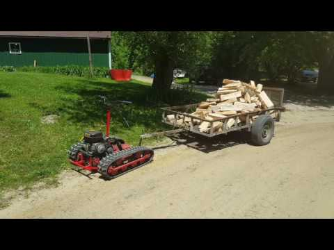 Personal Track Vehicle Part 14A Pulling Power - Fail