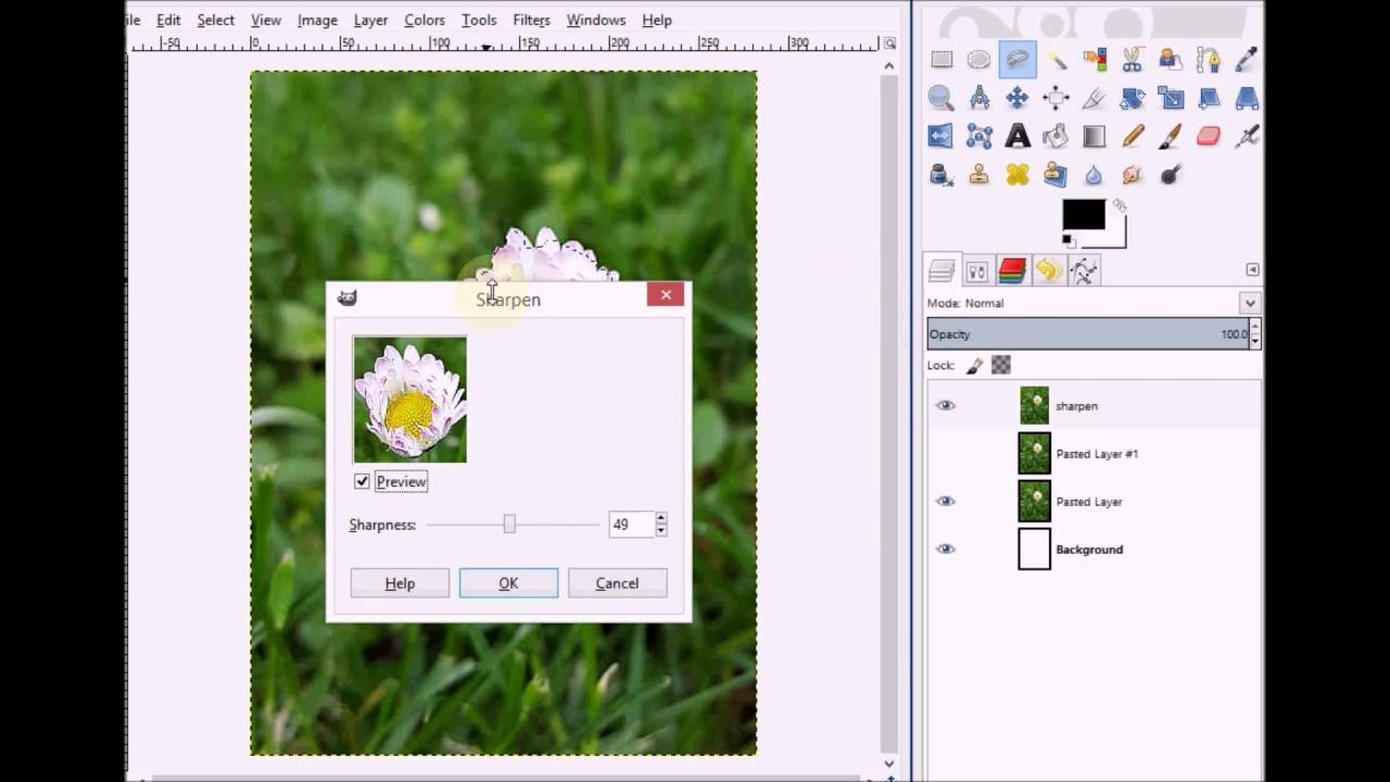 Photography edit: sharpen unblur tools for blurry images