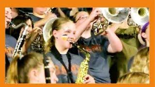США: ВЕСЕЛАЯ ПЯТНИЦА АМЕРИКАНСКИХ ШКОЛьНИКОВ/ ФУТБОЛ и МУЗЫКА (Marching band)