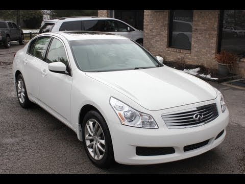 Used 2009 Infiniti G37 X AWD NAV Sunroof for sale Georgetown Auto Sales KY Kentucky SOLD
