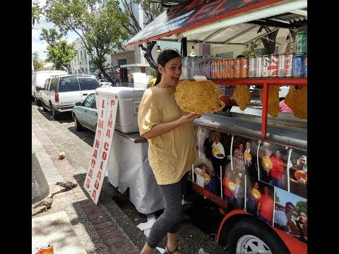 Watch me visit a Bacalaito food truck in Puerto Rico! (FB LIVE VIDEO)
