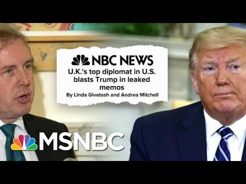 What Are U.S. Allies Saying About Trump Behind His Back? New Leaks | Deadline | MSNBC